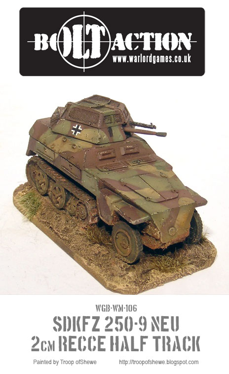 Sdkfz 250/9 front