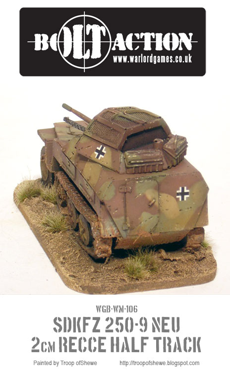 Sdkfz 250/9 Rear