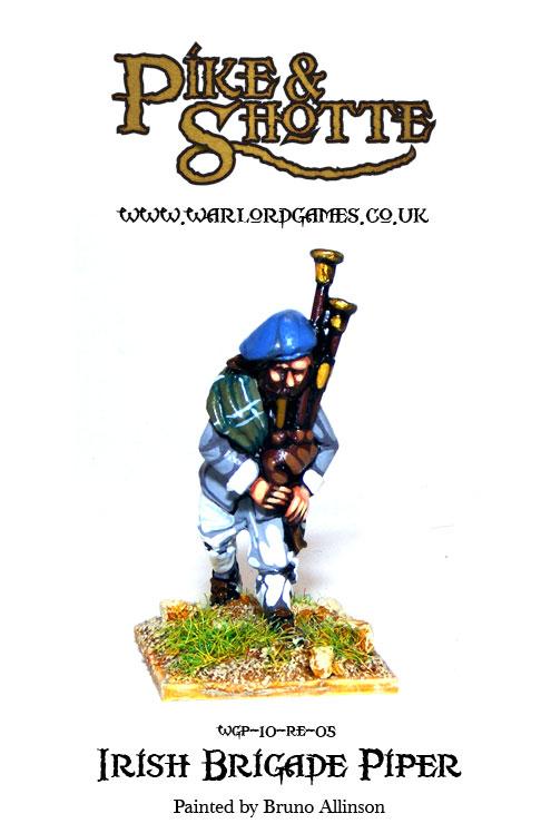 Irish Brigade Piper