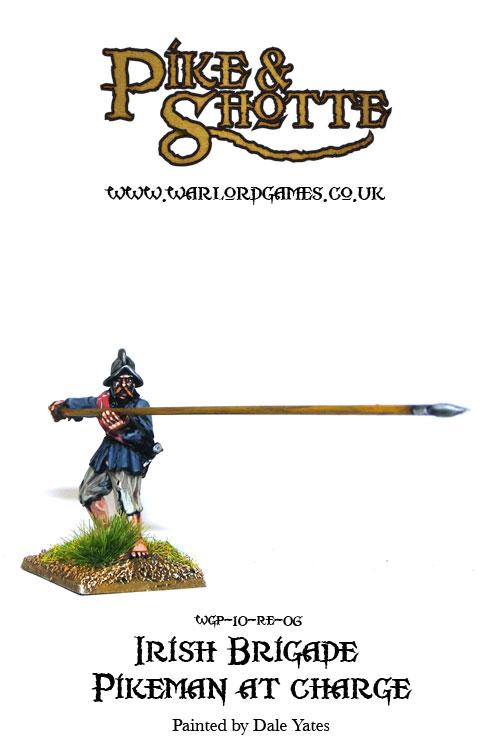 Irish Brigade Pikeman at Charge 4