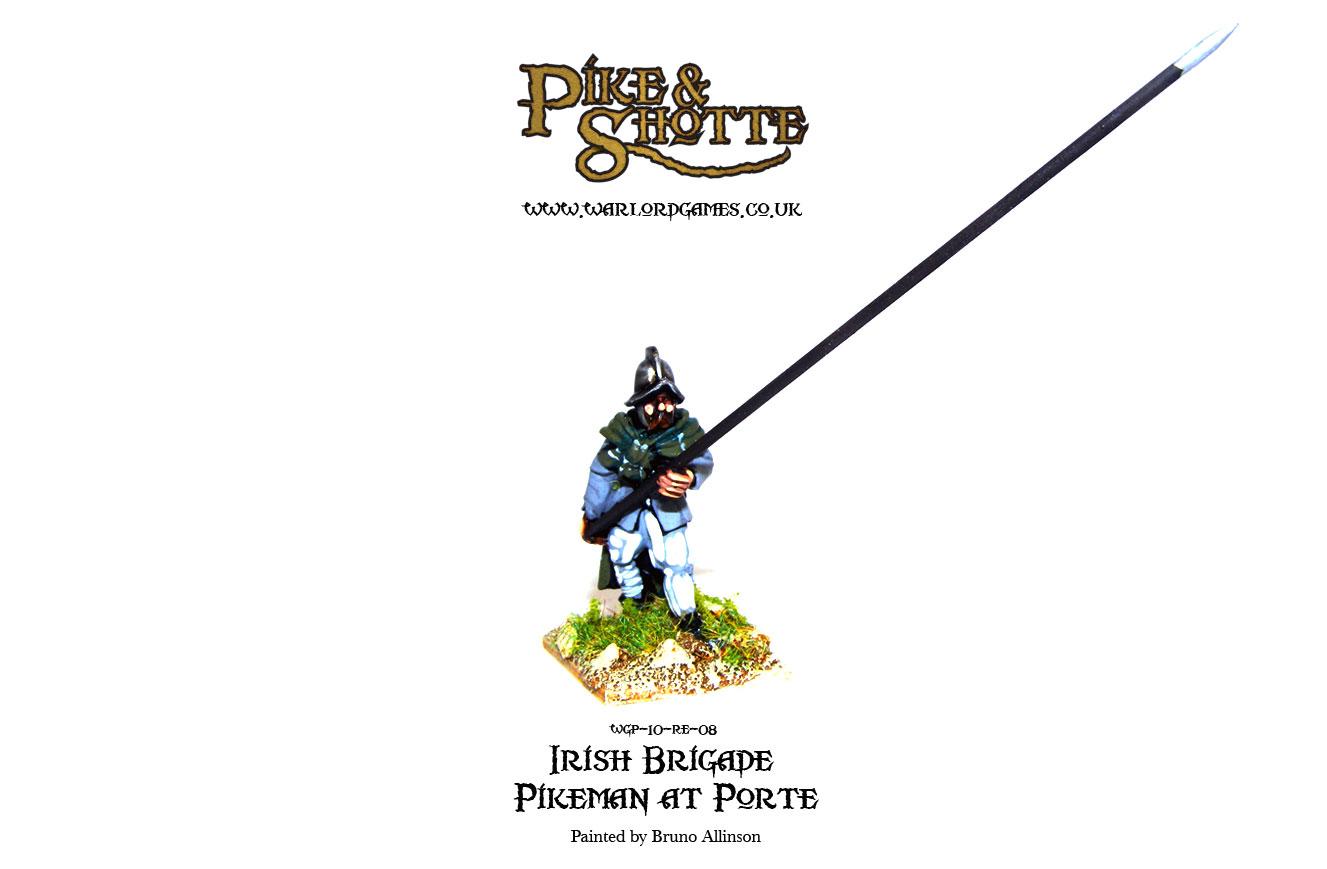 Irish Brigade Pikeman at Porte 2