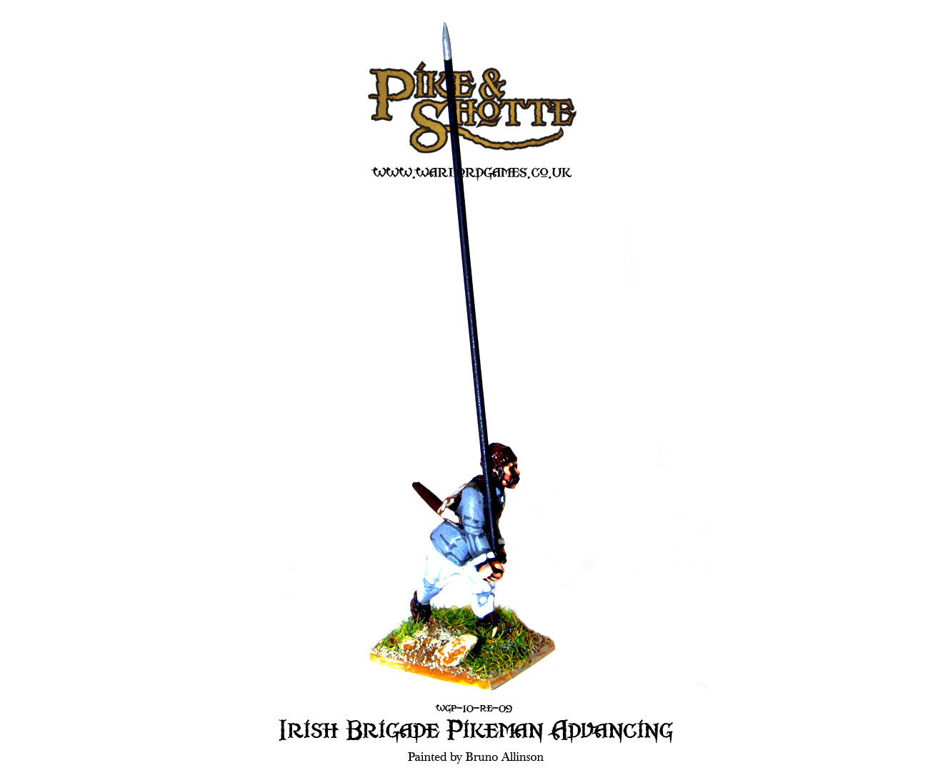 Irish Brigade Pikeman Advancing