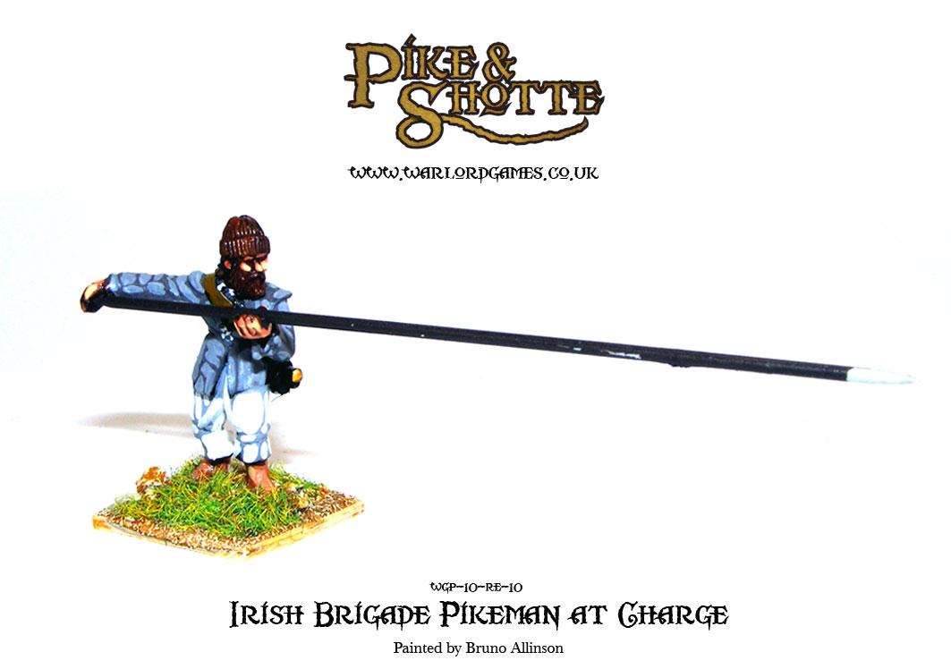 Irish Brigade Pikeman at Charge 3