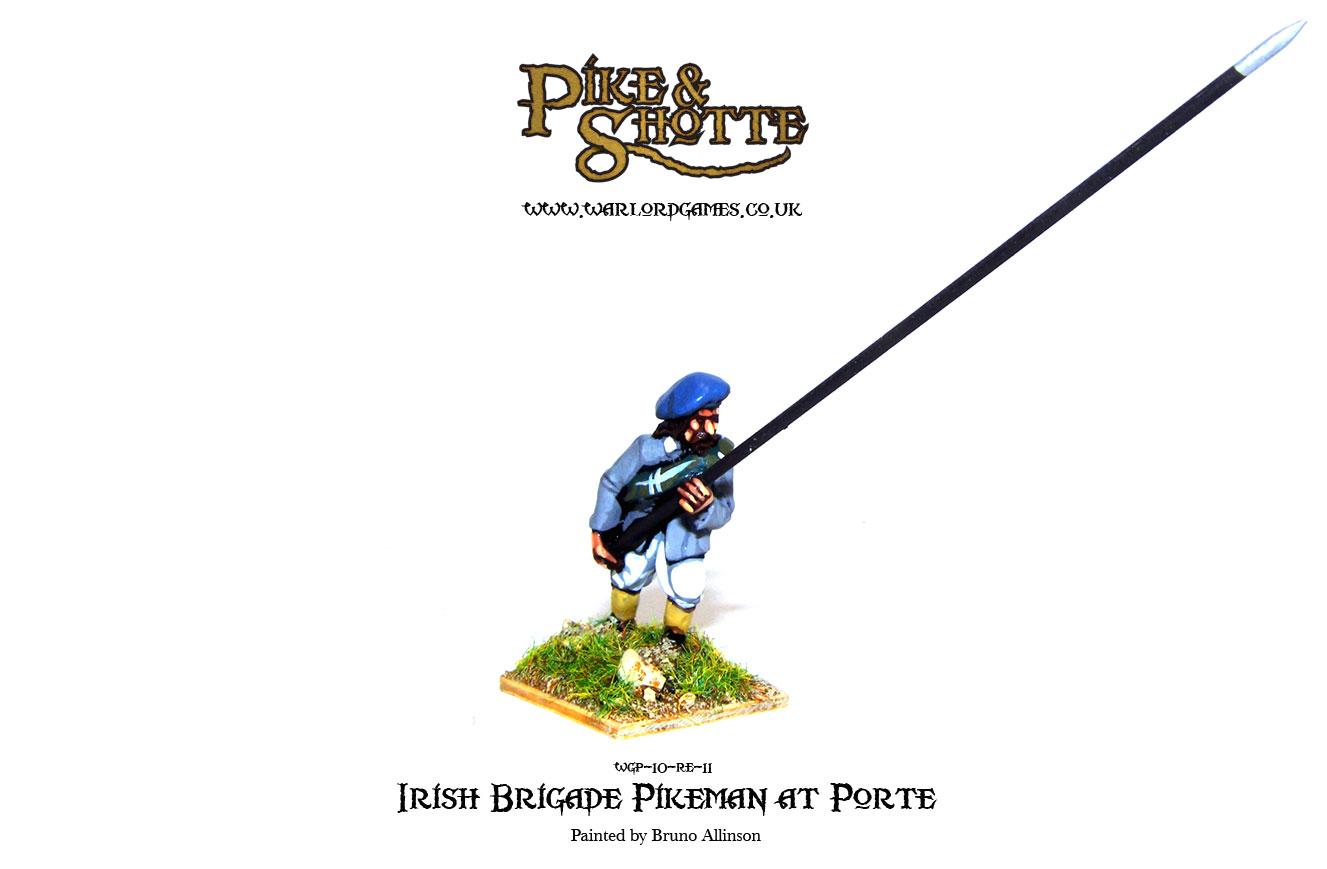 Irish Brigade Pikeman at Porte