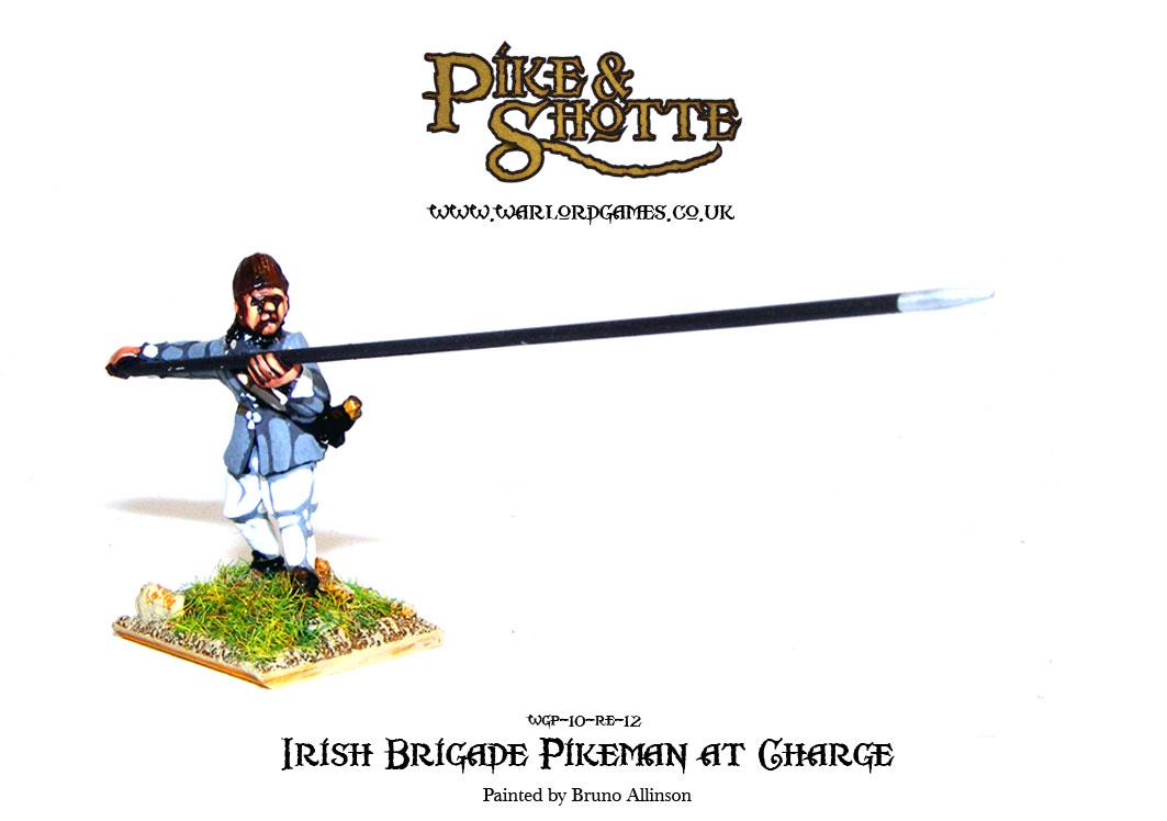 Irish Brigade Pikeman at Charge 2