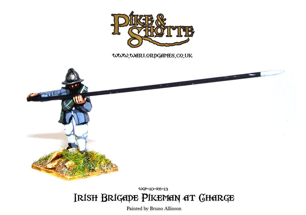 Irish Brigade Pikeman at Charge