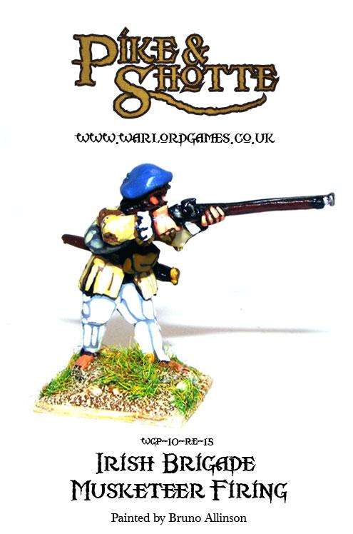 Irish Brigade Musketeer Firing 2