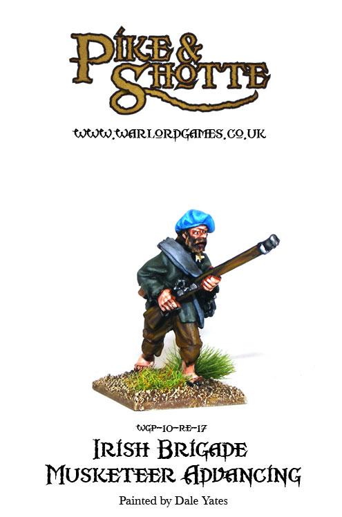 Irish Brigade Musketeer Advancing 2