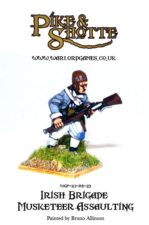Irish Brigade Musketeer Assaulting