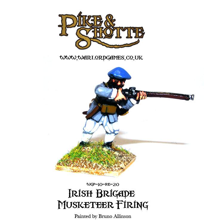Irish Brigade Musketeer Firing
