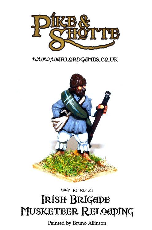 Irish Brigade Musketeer Reloading 2