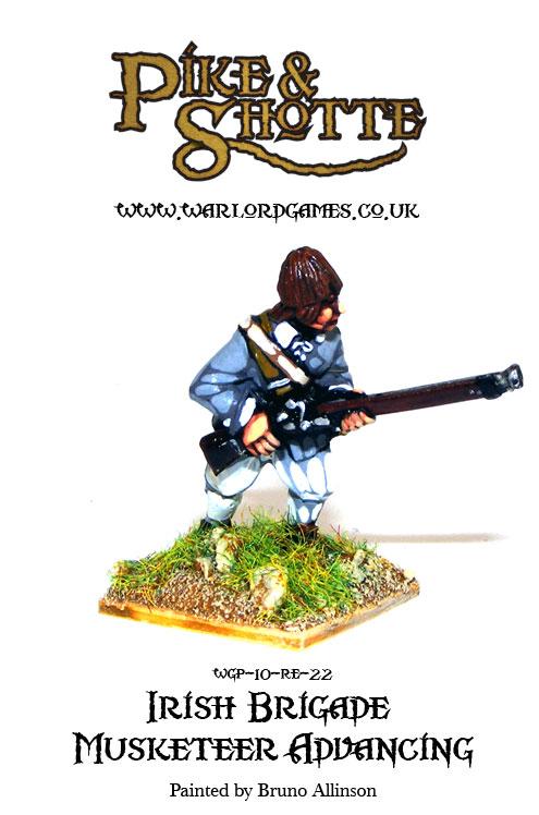 Irish Brigade Musketeer Advancing