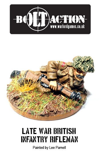 Lee Parnell's Bolt Action British 3