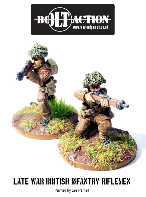 Lee Parnell's Bolt Action British 2