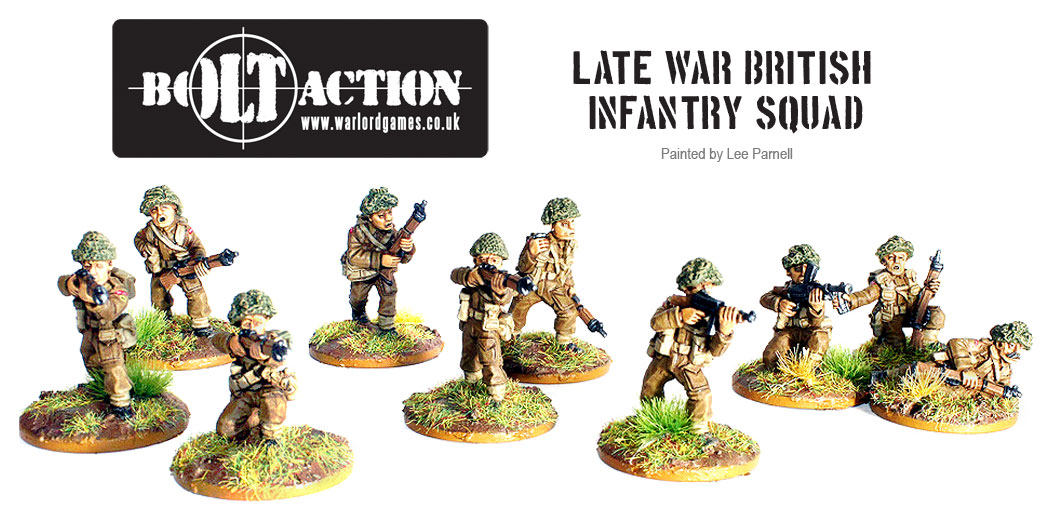 Lee Parnell's Bolt Action British 1
