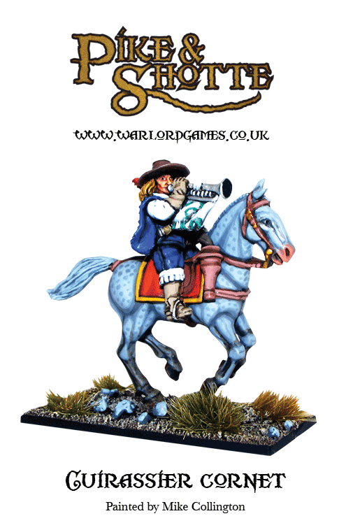 Pike & Shotte Cuirassier with Cornet