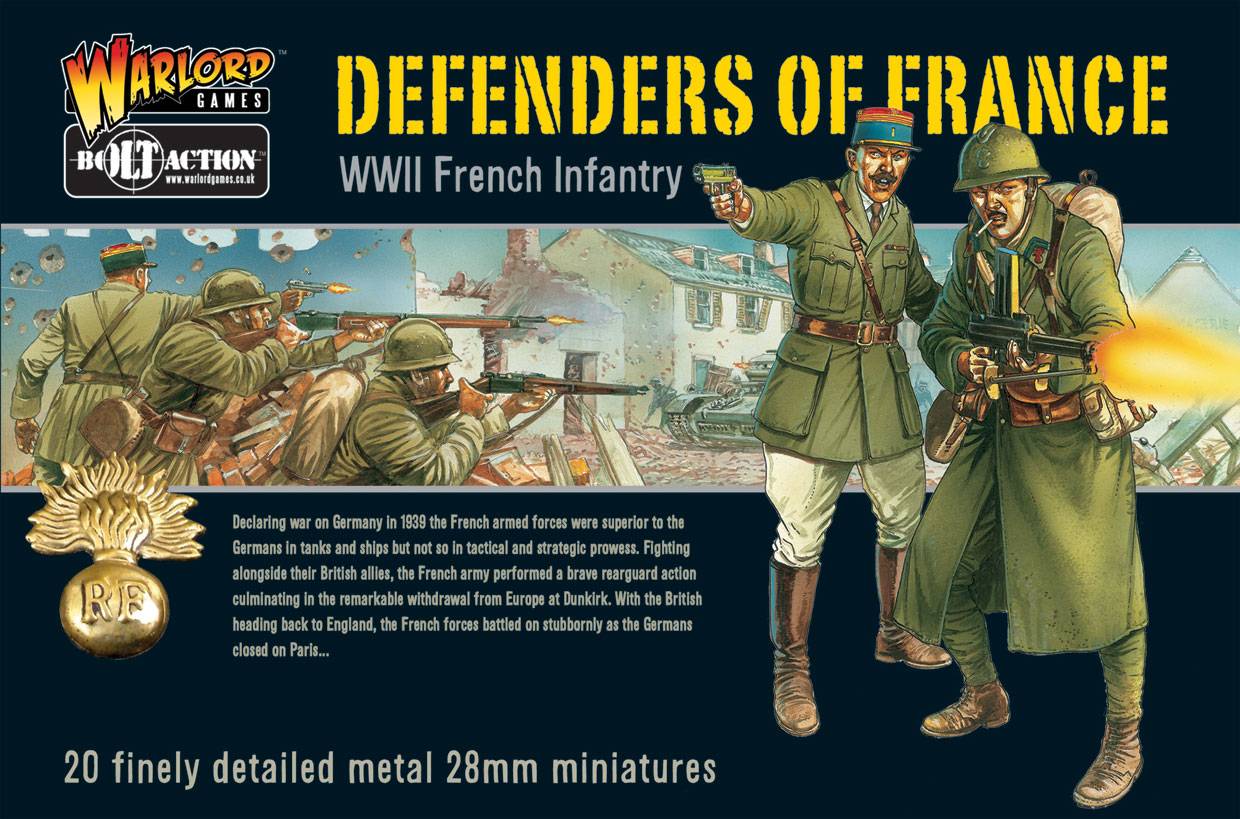 Defenders of France Boxed Set Cover