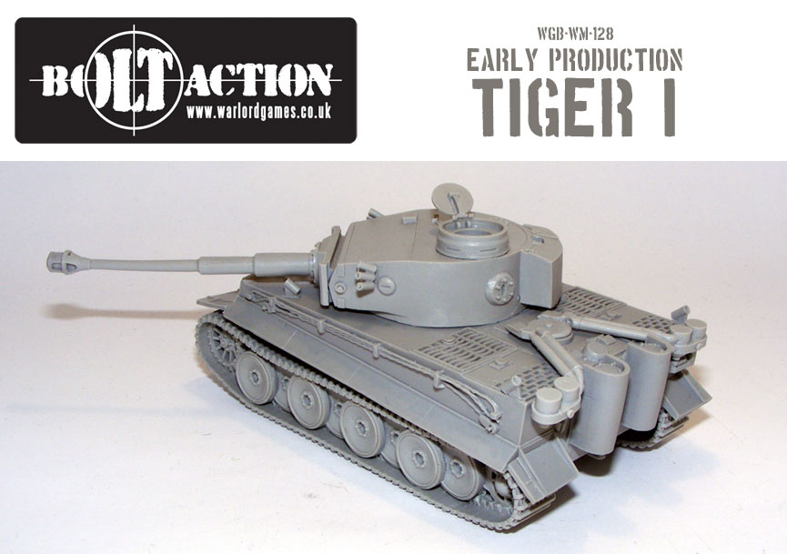 Bolt Action Early Production Tiger 2