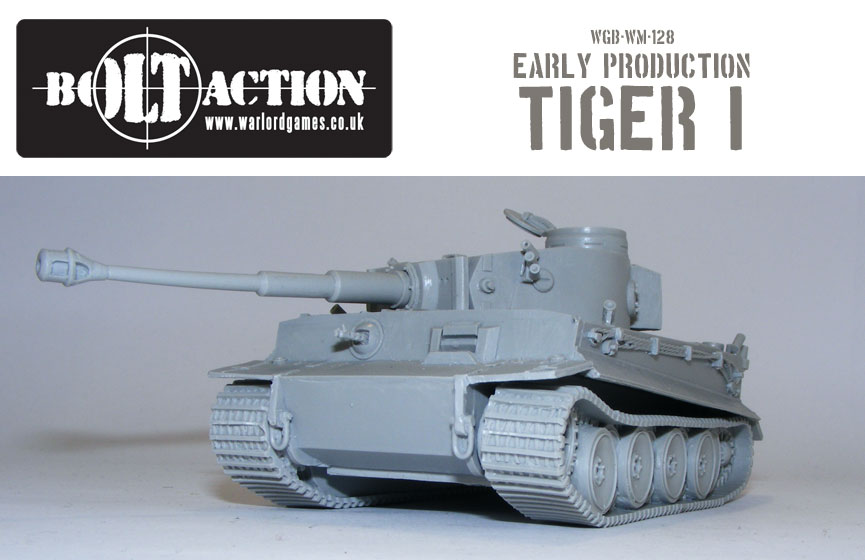 Bolt Action Early Production Tiger 3