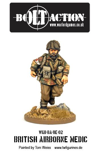 British Airborne Medic