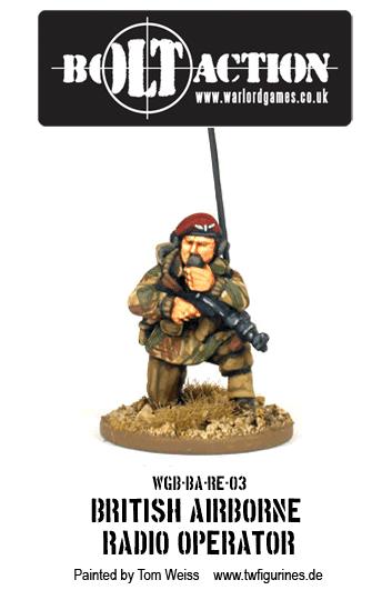 British Airborne Radio Operator