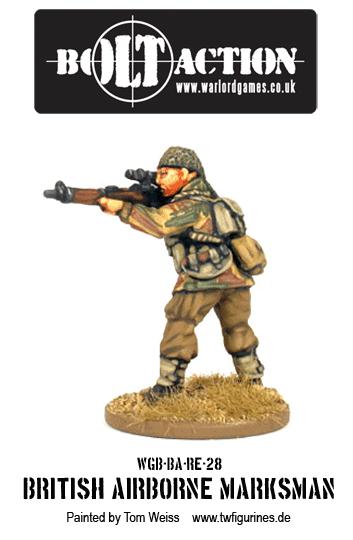 British Airborne Marksman