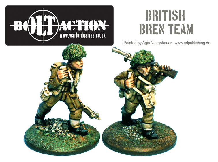 Agis Neugebauer's British Bren Team