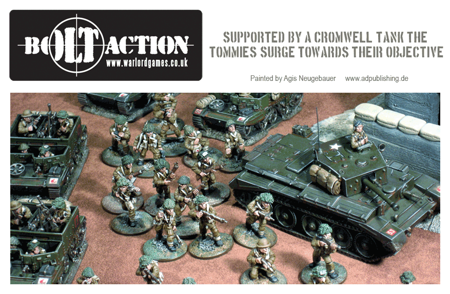 Agis Neugebauer's Tommies in Action