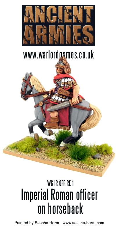 Sascha Herm's Imperial Roman Officer on Horseback 2