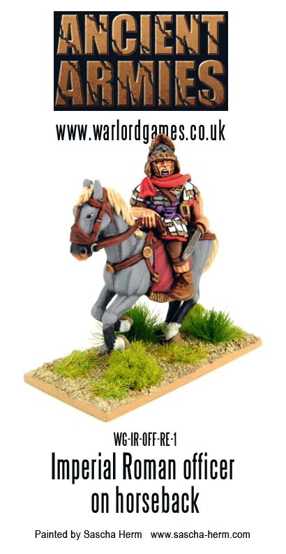 Sascha Herm's Imperial Roman Officer on Horseback 1