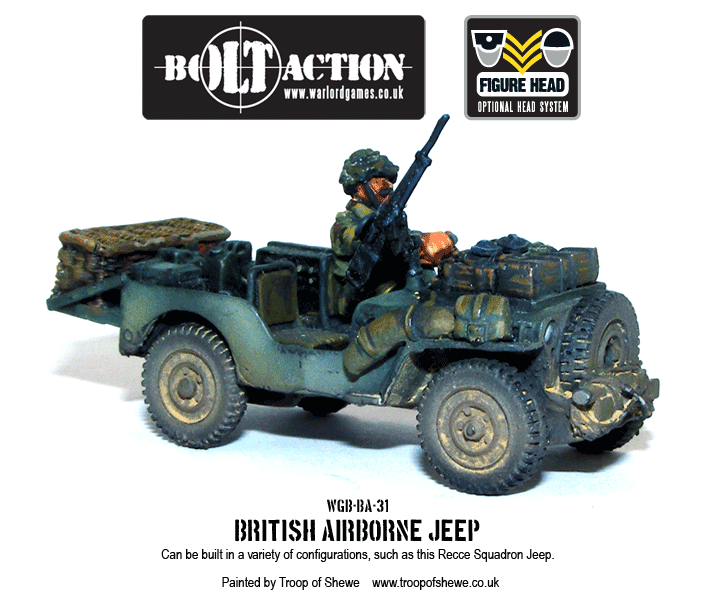 British Airborne Jeeps