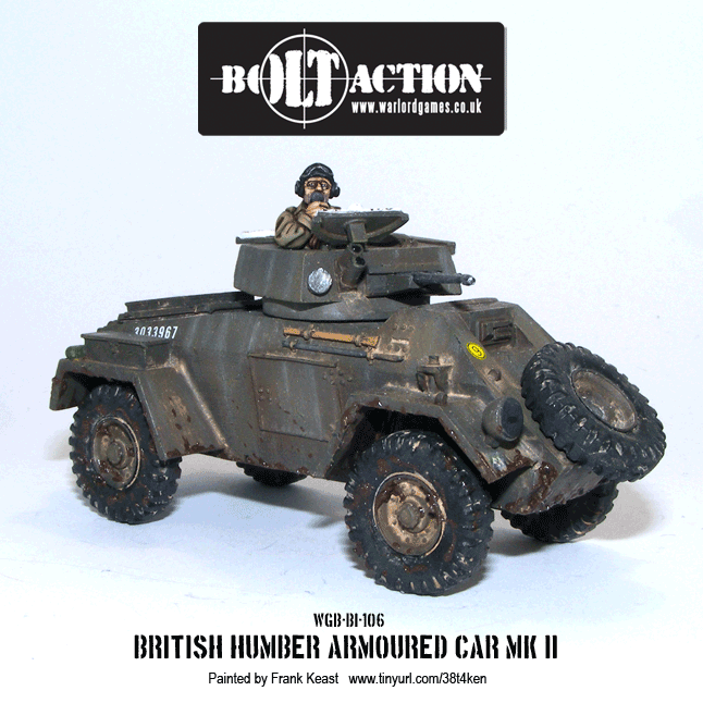 gallery humber armoured car mk ii warlord gameswarlord games. Black Bedroom Furniture Sets. Home Design Ideas