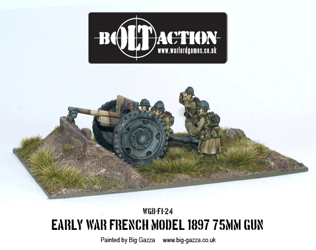 French 75mm