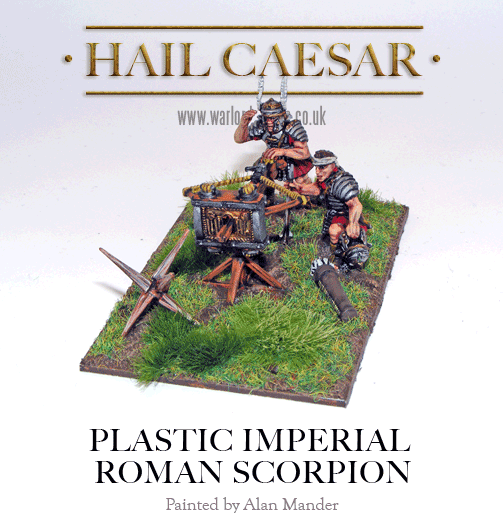 how to build a roman scorpion