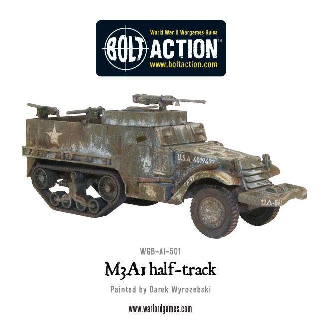 M3A1 Half Track