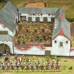 la Haye Sainte Battle Set contents