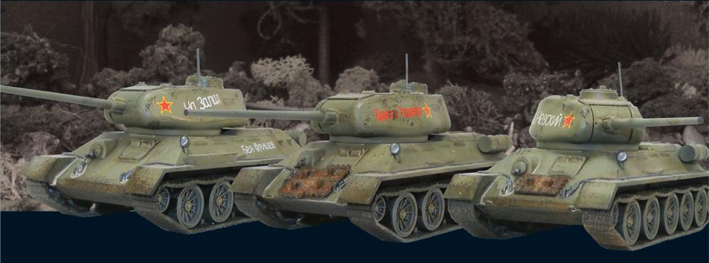 Soviet-Tank-Platoon