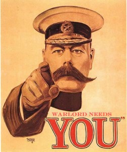 Kitchener - Warlord Needs You!
