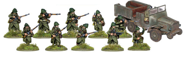 French Motorised Dragoons