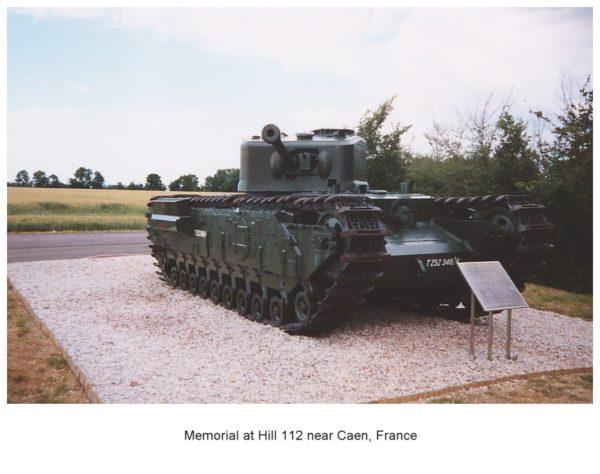 Hill 112 Tank Memorial