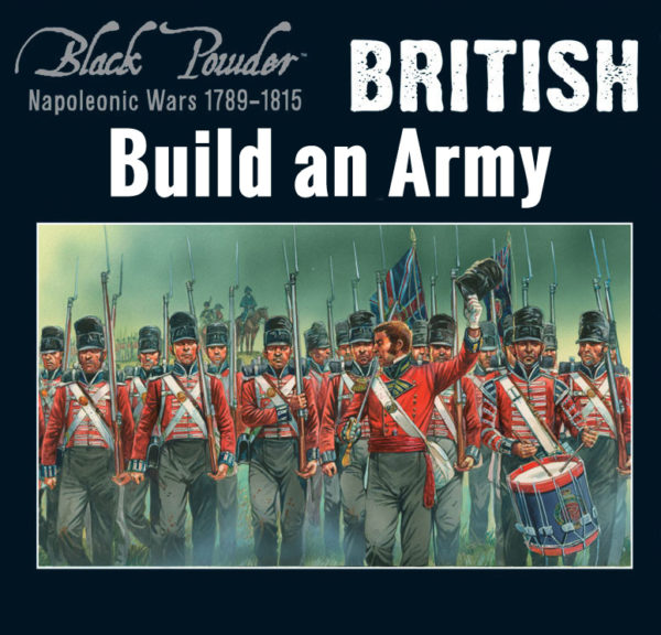 Napoleonic British Build an Army updated
