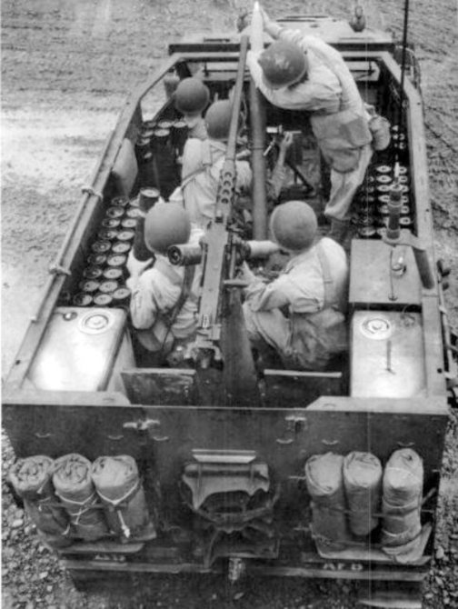 M21 Mortar Halftrack b