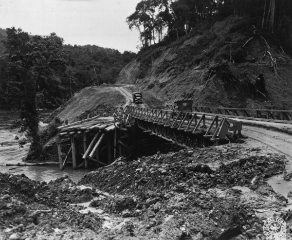 Merrills Marauders Bridge_on_the_Ledo_Road_NARA_111-SC-193547