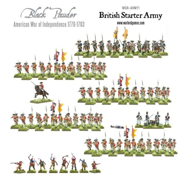 WGR-ARMY1 AWI British Starter Army a