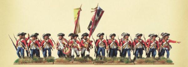 British AWI Redcoats Rebellion