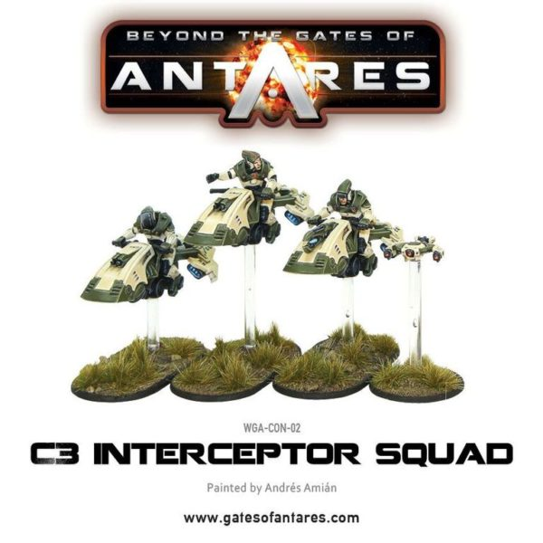 C3 Interceptor Squad box 1