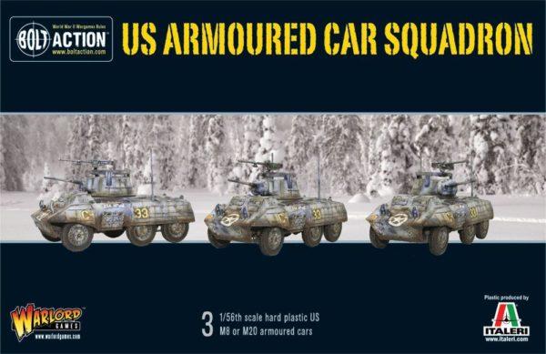 WGB-AI-508 US Armmoured Car Squadron box