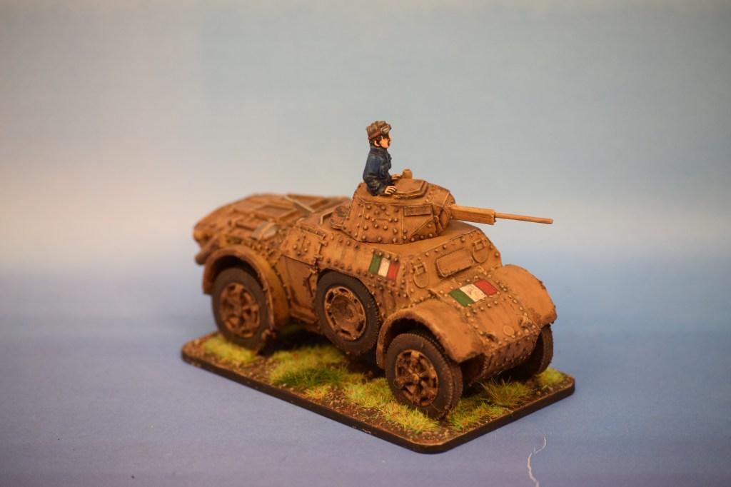 Warlord Games Italian AB41 Armoured Car (1)