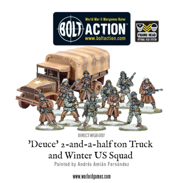 DIRECT-WGB-007 - Deuce 2-and-a-half ton Truck and Winter US Squad