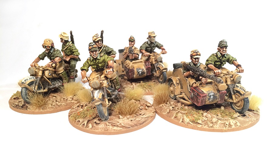 Afrika Korps Panzer Painting Guide - Paint All The Minis